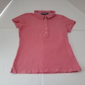 Vineyard Vines Pink Womens Medium Polo in good use